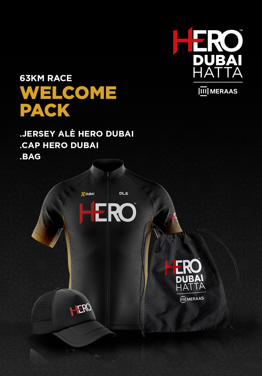 dubai welcome pack